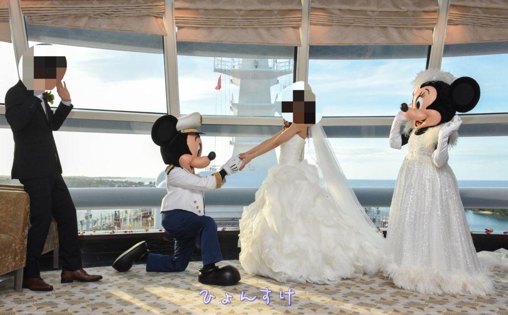 ミッキーからのプロポーズ(DCLFTW)