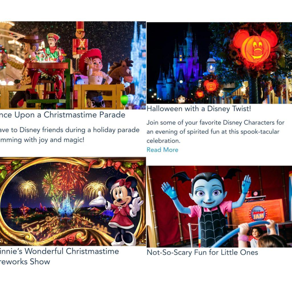 イベントチケット購入方法④ハロウィンクリスマス