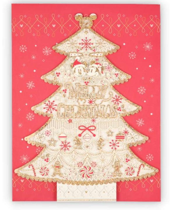 日本ホールマーク ディズニー ミッキー ミニー クリスマスカード 780142