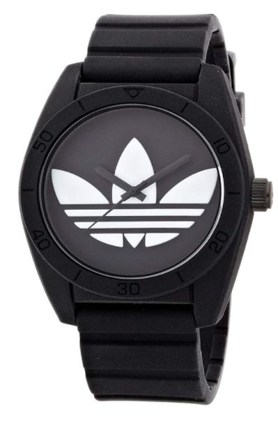 ADIDAS アディダス ADH6167 ブラック UNISEX ユニセックス サンティアゴ SANTIAGO クオーツ 腕時計 [並行輸入品]