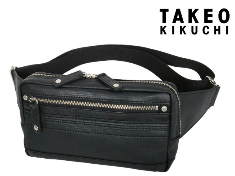 タケオキクチ ボディバッグ ドライ別注 WEB限定 メンズ 345158 日本製 TAKEO KIKUCHI | 当社限定