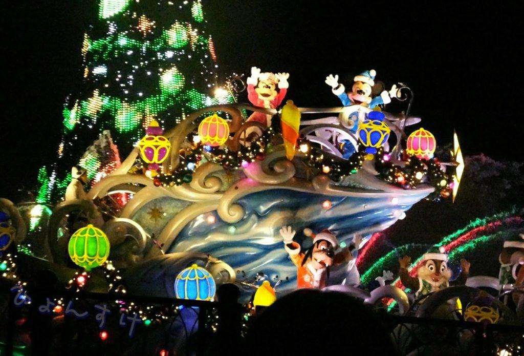 1番嬉しいのはクリスマスディズニー旅行