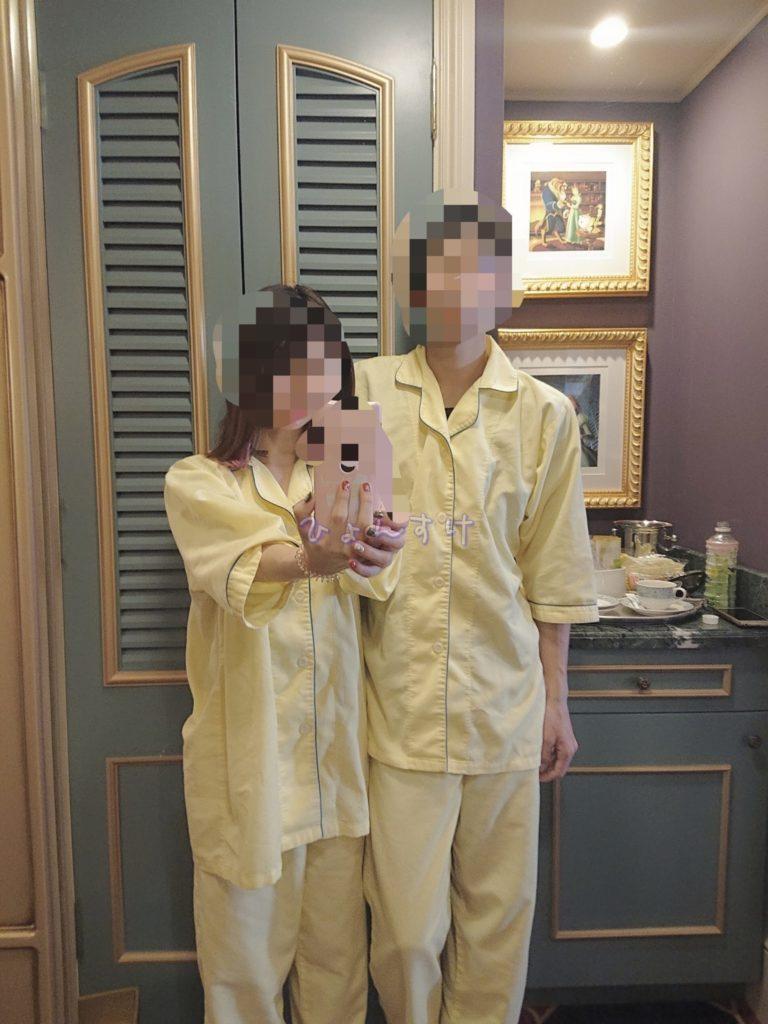 ディズニーランドホテルのパジャマ