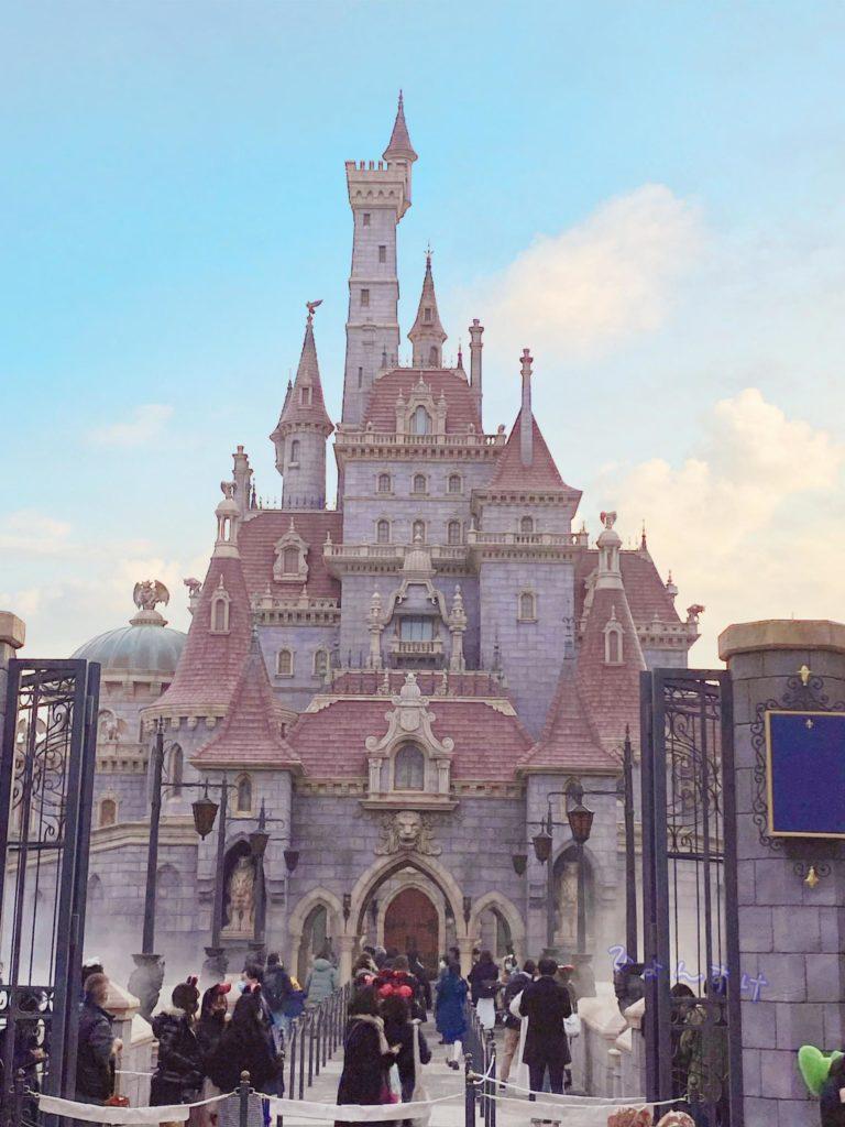 美女と野獣エリア:野獣のお城