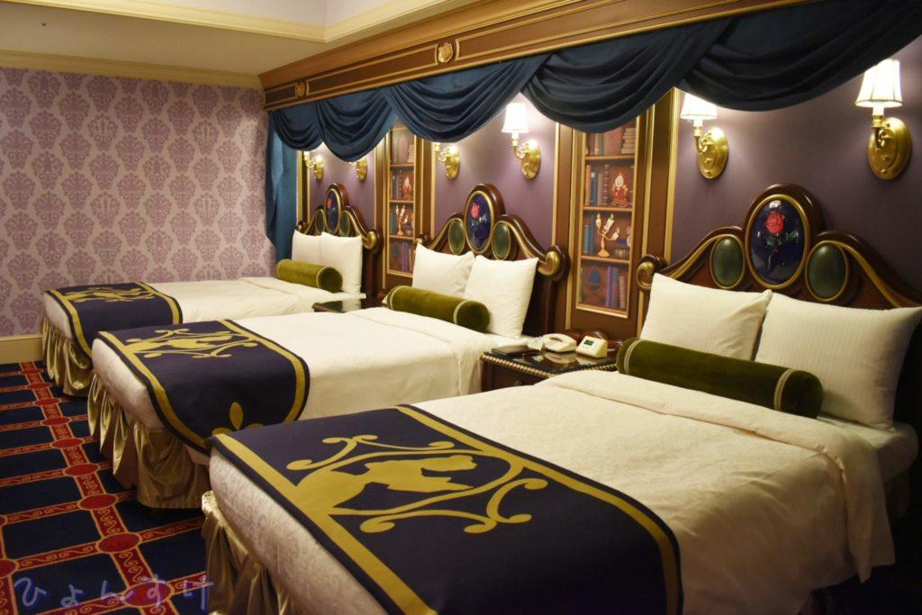 ディズニーランドホテル:美女と野獣ルーム