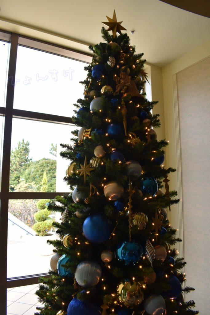 ディズニーアンバサダーホテルブライダルフェア:クリスマスツリー