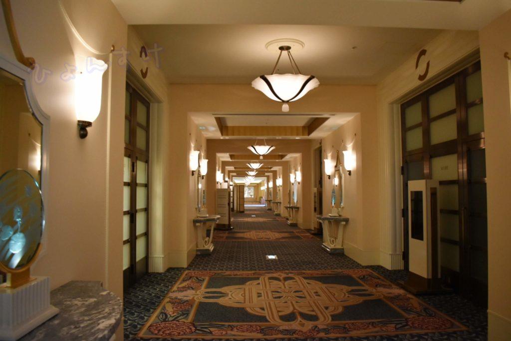 ディズニーアンバサダーホテルブライダルフェア:廊下