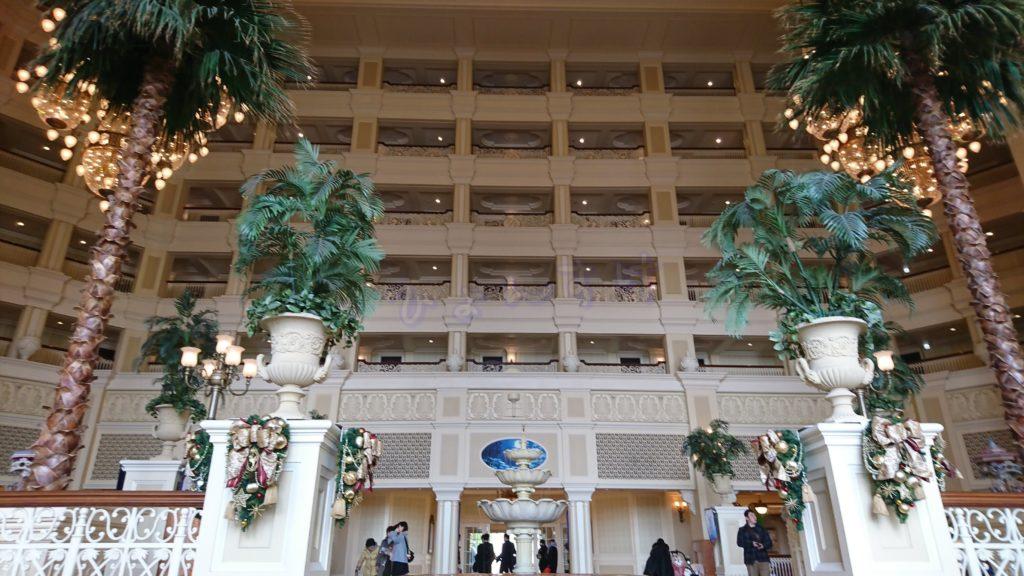 東京ディズニーランドホテル ロビーアトリウム