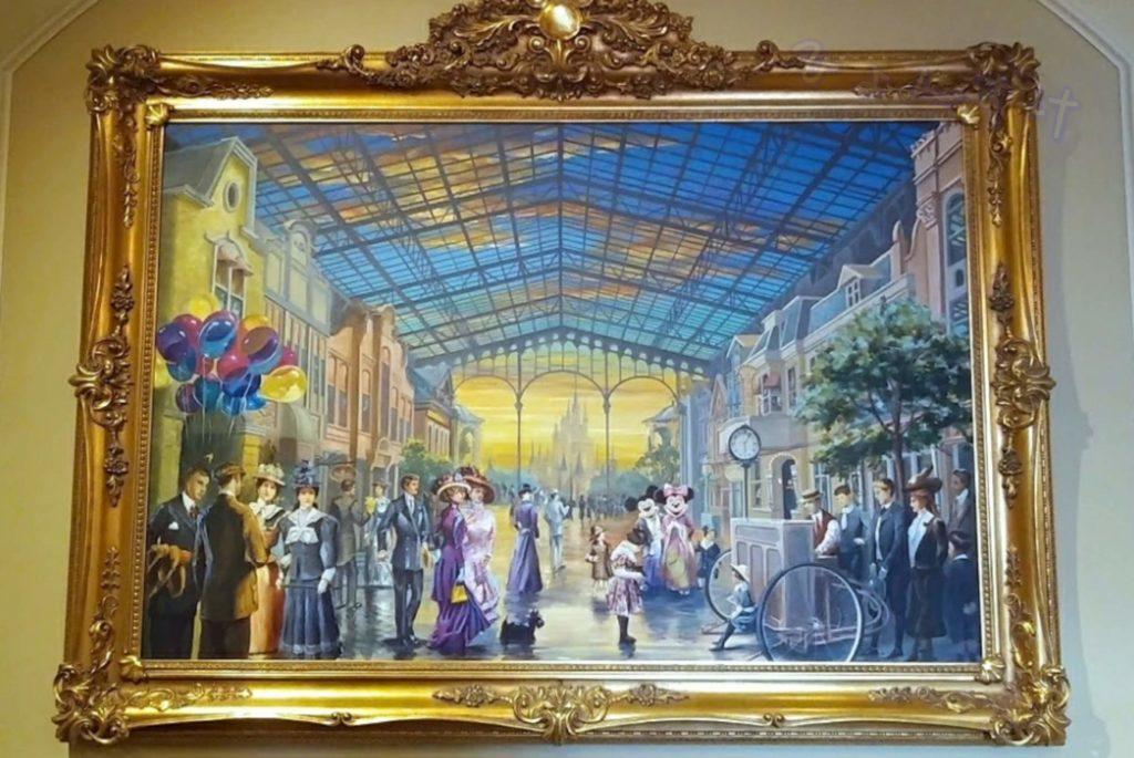 ディズニーランドホテル 絵画