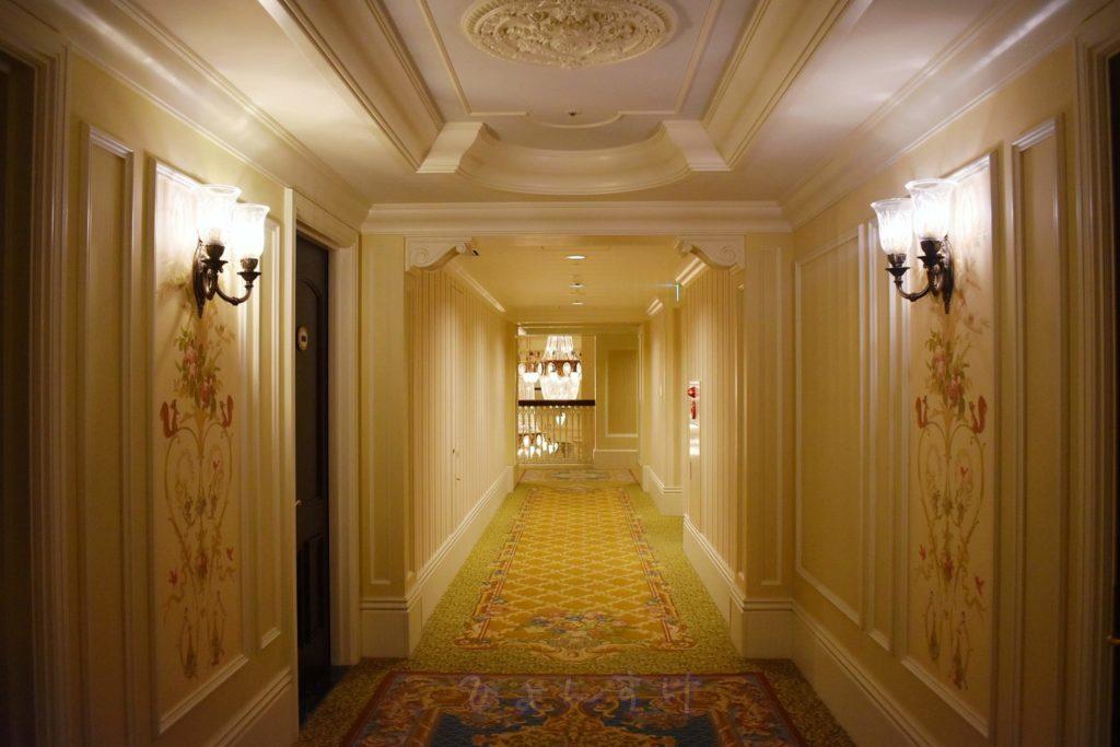 ディズニーランドホテル 客室フロア