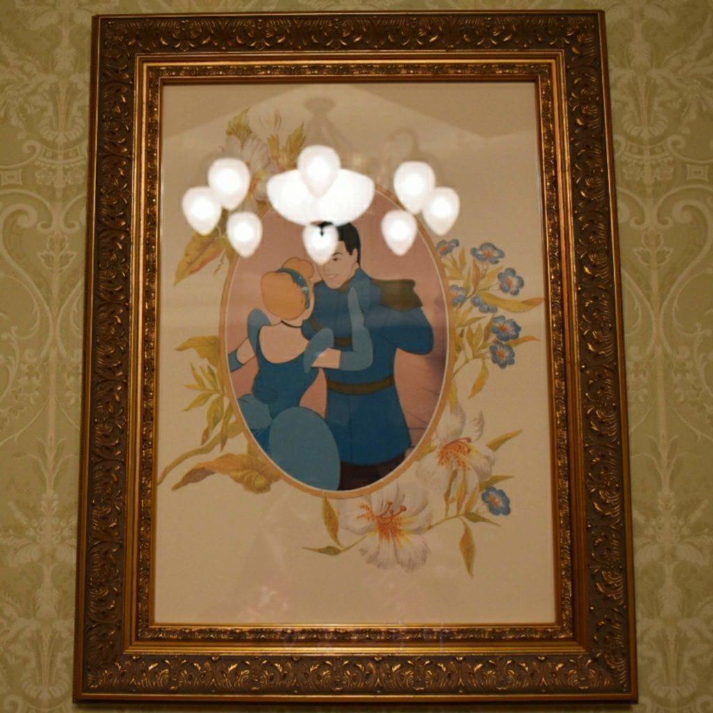 ディズニーランドホテル 絵画 シンデレラ プリンスチャーミング
