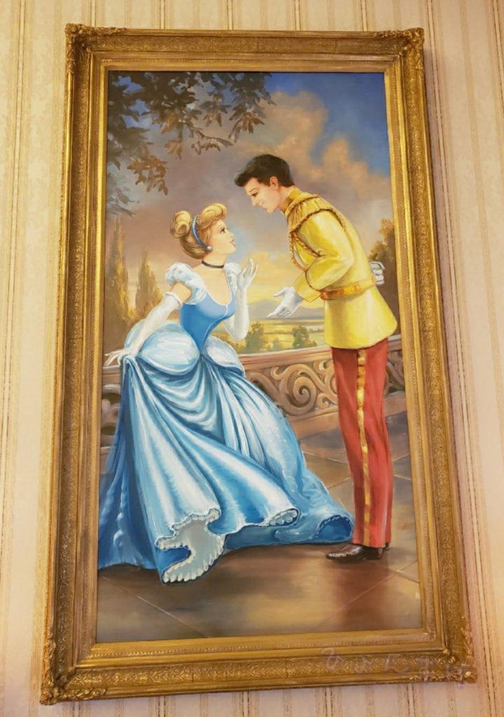 ディズニーランドホテル バンケットルーム 宴会場 シンデレラ 絵画