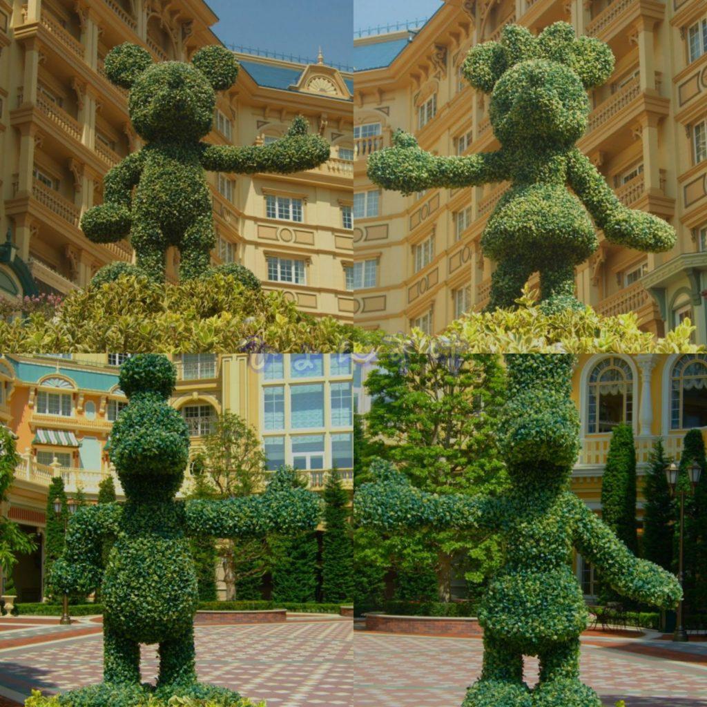 ディズニーランドホテル:ミッキー&フレンズ・スクエア