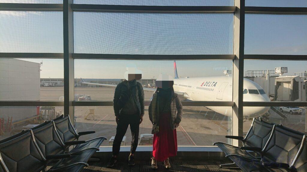 WDW旅行 デトロイト空港