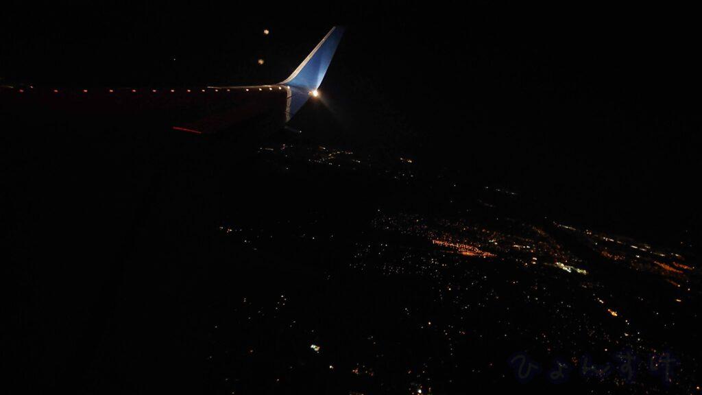 デトロイト空港からオーランド空港に移動