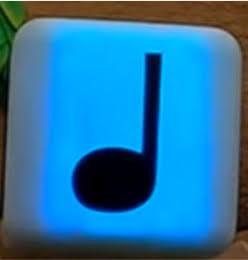 USJ マリオエリア 音符ブロック 水色
