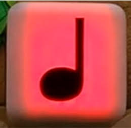 USJ マリオエリア 音符ブロック 赤