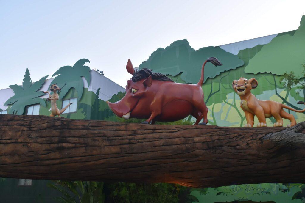 WDW直営ホテル アートオブアニメーションホテル ライオンキング