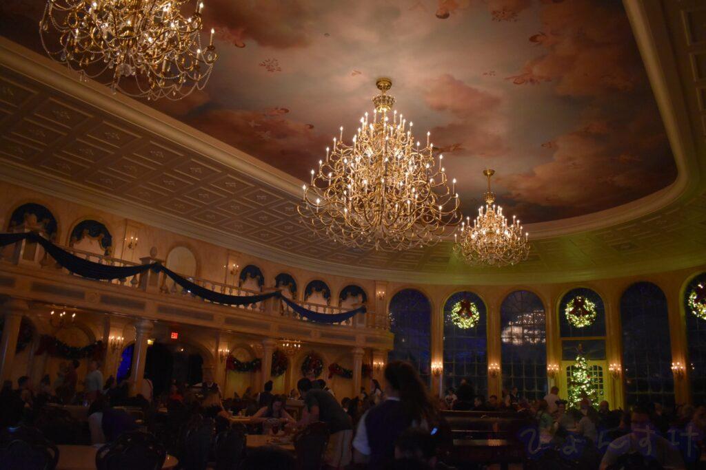 WDW MK ビーアワゲストレストラン(BeOurGuestRestaurant) ボールルーム