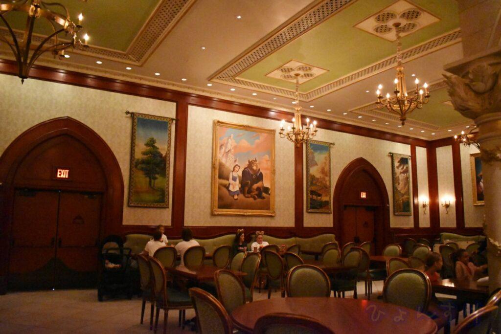 WDW MK ビーアワゲストレストラン(BeOurGuestRestaurant) ローズ・ギャラリー