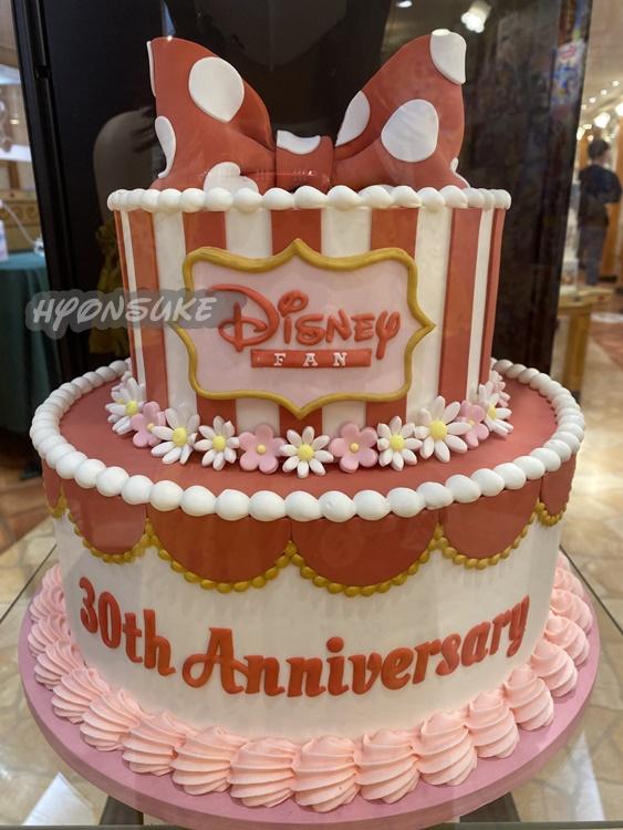 ディズニーストア「Disney FAN 30th anniversary FAN! FAN! FAN!」心斎橋店