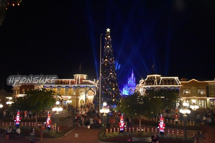 WDW(ウォルトディズニーワールド) MK(マジックキングダム) Xmas(クリスマス)