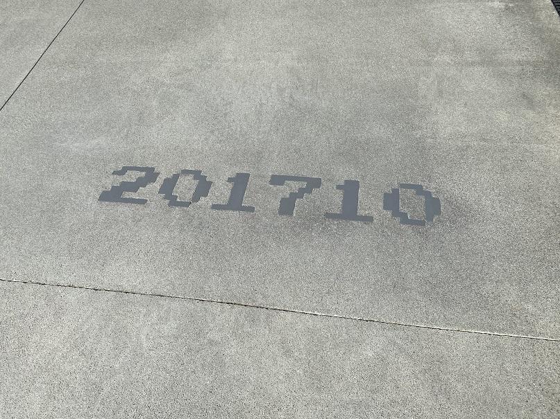 usjマリオ地面の数字