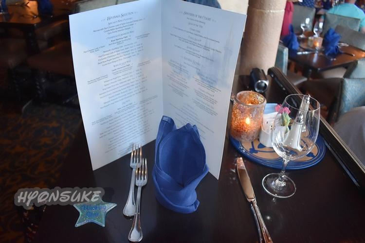 wdw シンデレラロイヤルテーブルレストラン