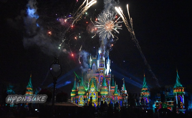 WDW MK「Happily Ever After(ハッピリーエバーアフター)」