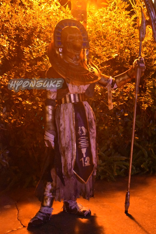 USJ ハロウィンホラーナイト ゾンビ「エインシェント・シークレット・ゾーン」