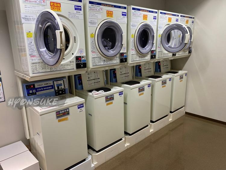 パークフロントホテル usjホテル ラスベガスをイメージした2階エントランス 洗濯機・乾燥機