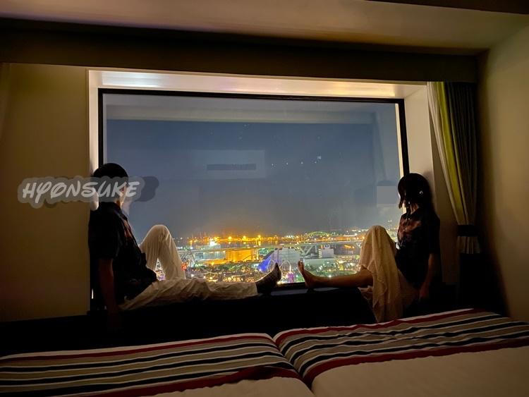 USJに1番近いホテル「ザパークフロントホテルアットユニバーサルスタジオジャパン」の眺めが抜群のパークビューに宿泊!気になる値段は?部屋の内装や設備・アメニティもかなり充実していました。写真付きで全て紹介します。